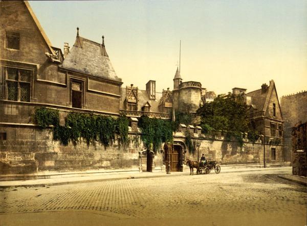 Ho?tel De Cluny (Muse?e National Du Moyen A?ge), Paris, France, 1890S