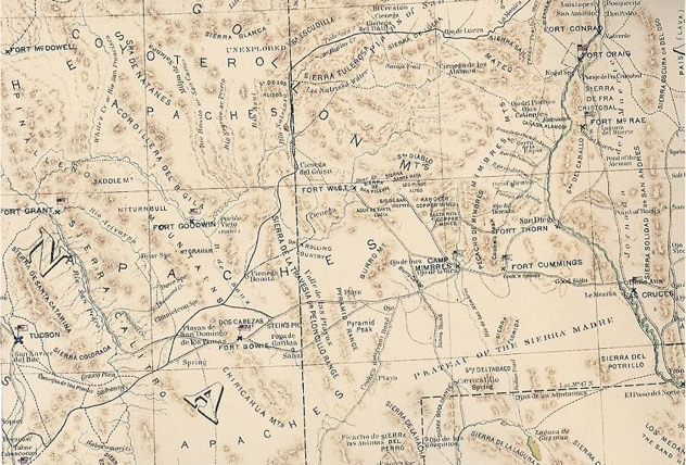 Military Map 1864 1