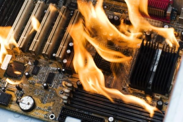Overheating-Computer