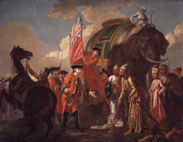 Robert Clive And Mir Jafar After The Battle Of Plassey, 1757 By Francis Hayman