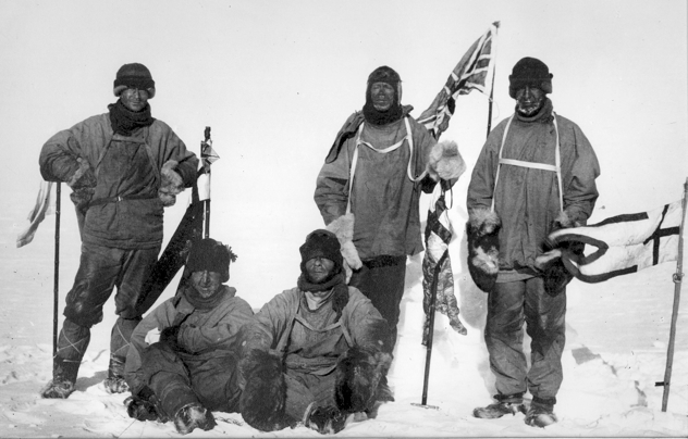 Scott-Team-At-South-Pole