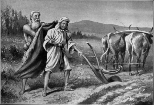 Elijah Summons Elisha