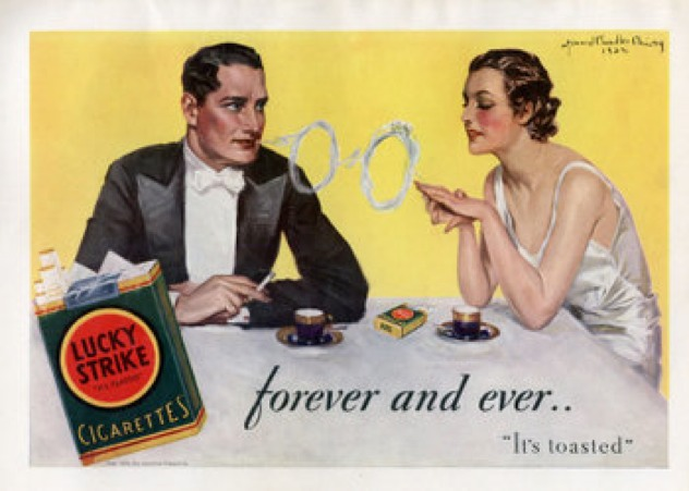 1933 Lucky Strike Ad