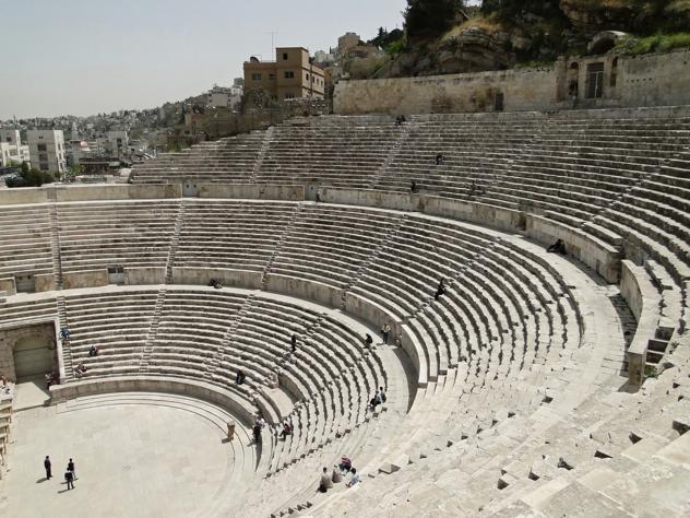Roman Theater Of Amman 04