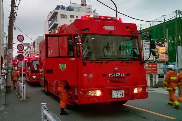 Tokyo Fire Department Trucks