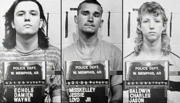 West Memphis Three Mugshot