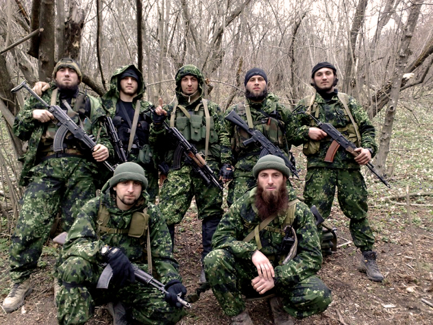 Chechen Mujahideen By Chewolf-D36M170