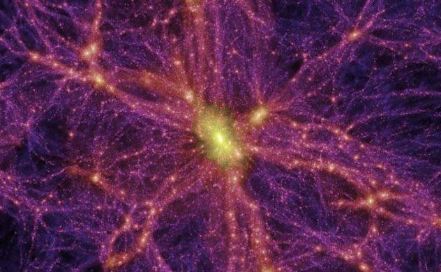 Dark Matter Large