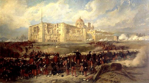 Siege De Puebla