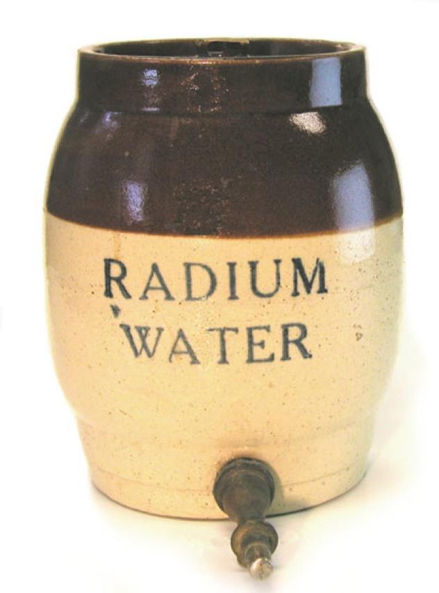 Radiumwaterjar
