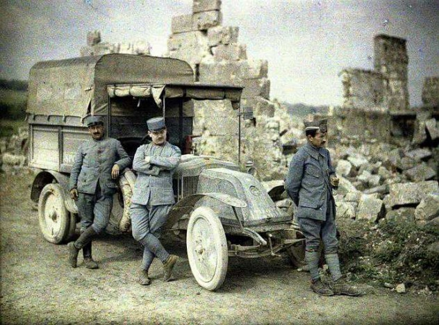 WWI-Truck-In-Colour