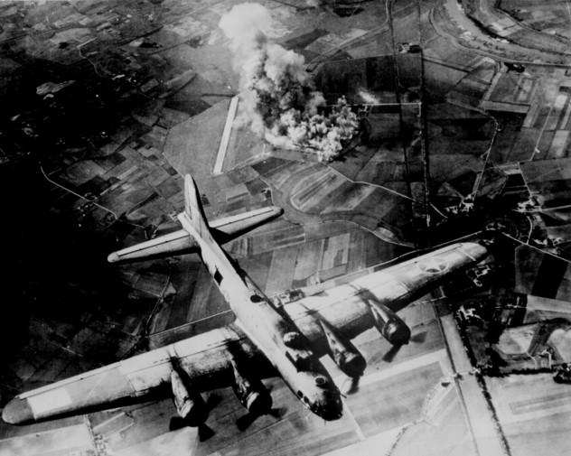 Firebombing Dresden