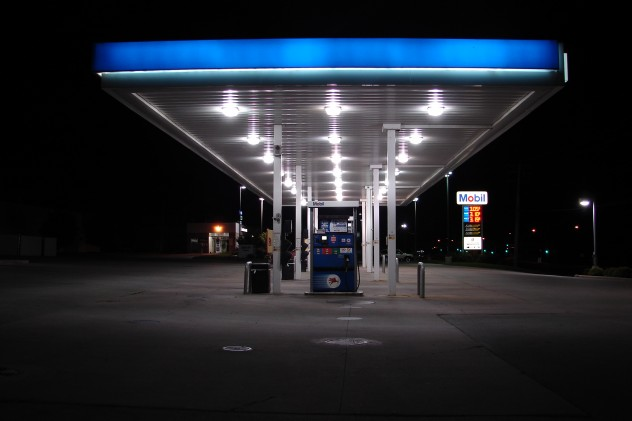 Gas_Station_Pumps_at_Night_2_by_FantasyStock