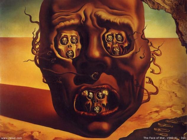 Salvador+Dali+-+The+Face+Of+War+
