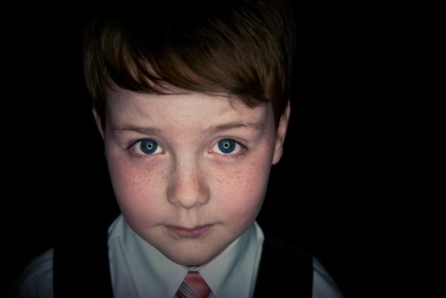 Scary Little Boy