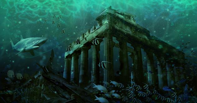 Real Underwater City 10 Mysterious U...