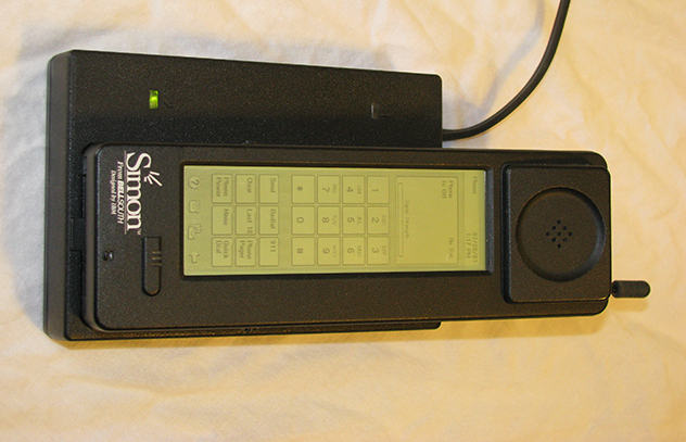 simon the first smartphone