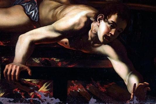 Caravaggio+St.+Lawrence