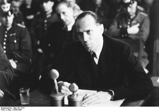 Volksgerichtshof, Helmuth James Graf v. Moltke