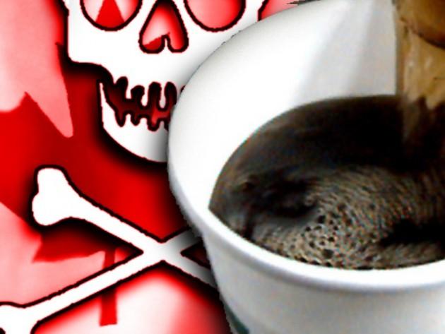 Poison coffee