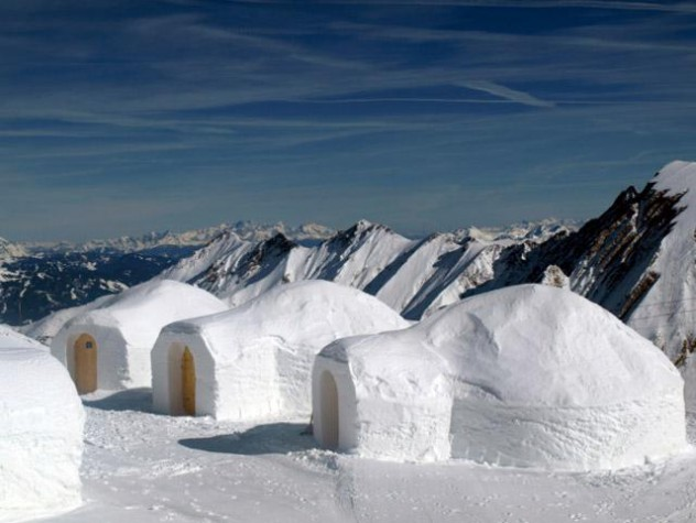 how to build an easy igloo out of snow