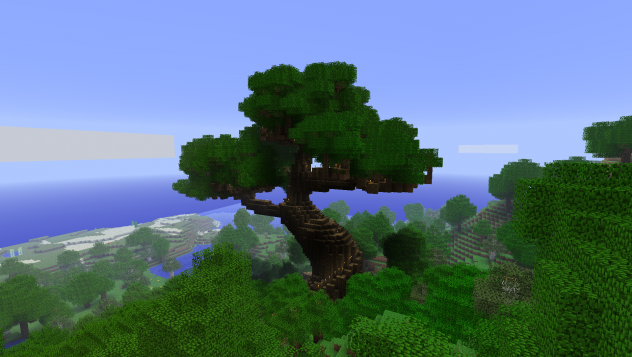 7 Tree Disease Fought With Computer Game. Minecraft
