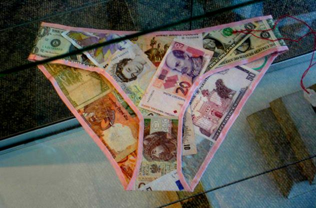 money knickers