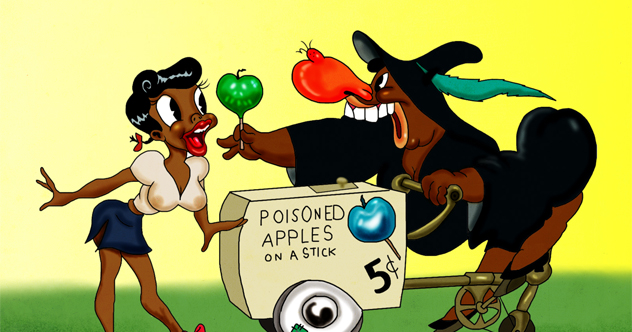10 Politically Incorrect Vintage Cartoons on old cartoon mickey mouse