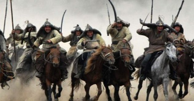 Image result for mongol hordes on horseback