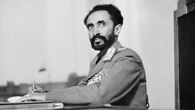 Rastafarian Selassie