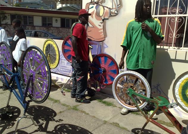 4- scraper bikes