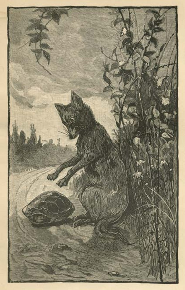 1_Brer_Fox_tackles_Brer_Tarrypin,_1881