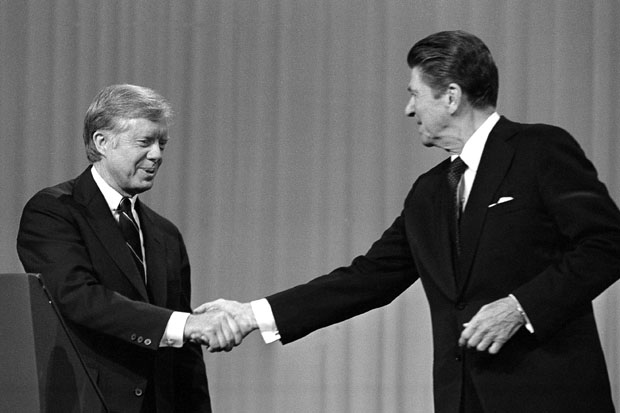Jimmy Carter, Ronald Reagan