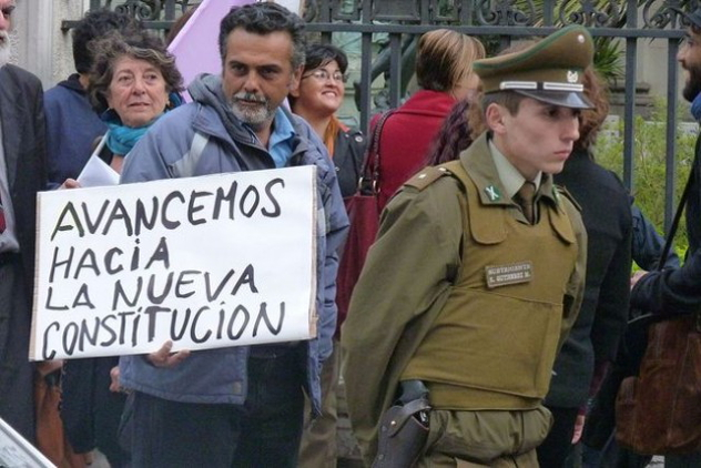 still controls chile - constitution
