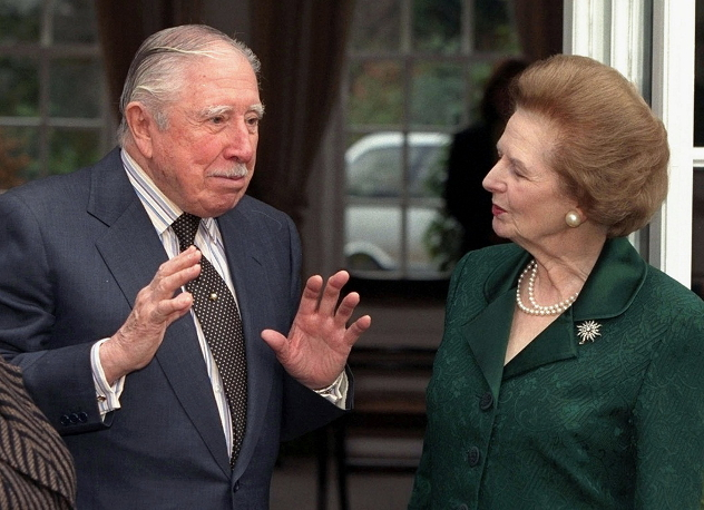 the world did nothing - thatcher and pinochet