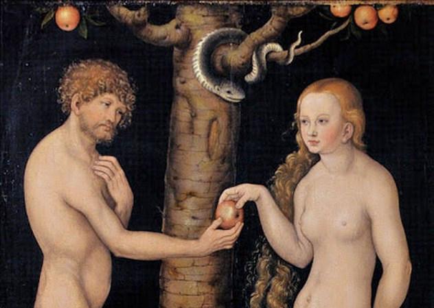 3_Lucas_Cranach_-_Adán_y_Eva_(Museo_Soumaya,_Mexico)