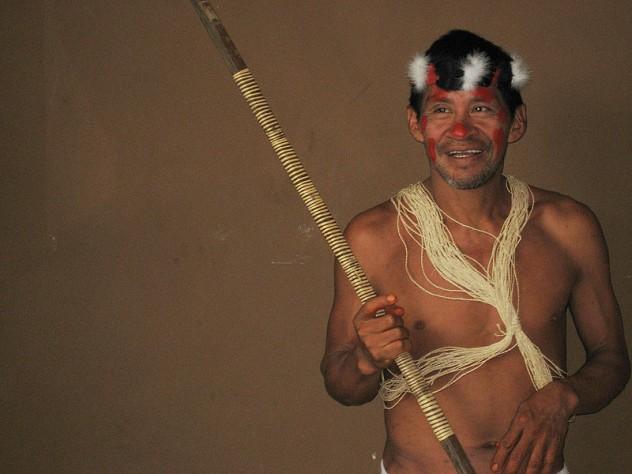 800px-Huaorani_leader