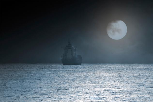 9- ghost ship