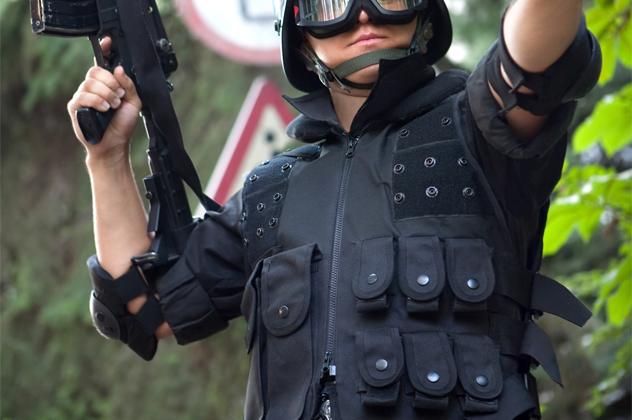 1- bullet proof vest