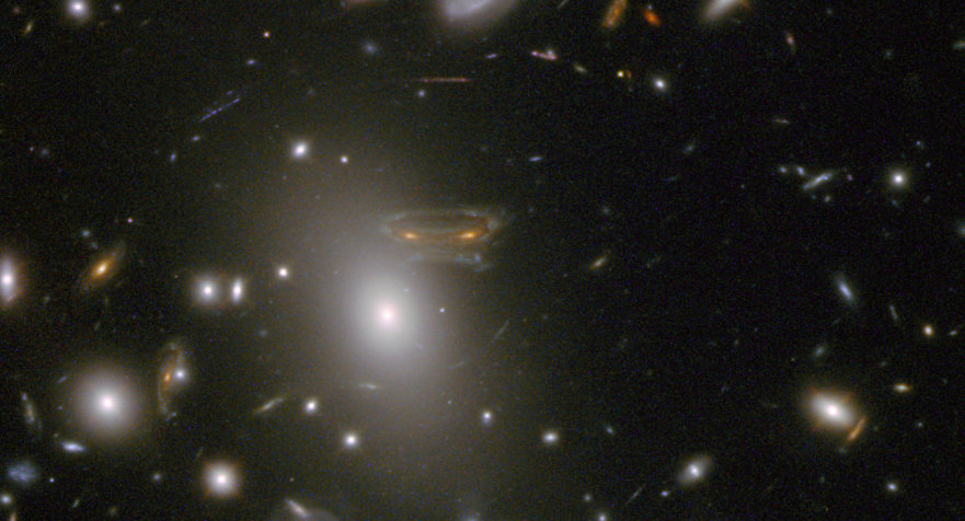 Hubble image of Abell 68