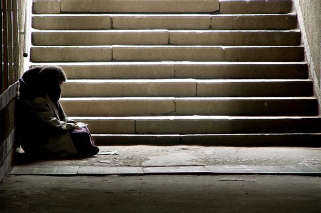 8- homeless