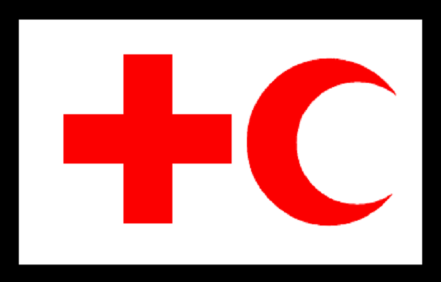 IFRC_flag_used_in_Kengir_Uprising
