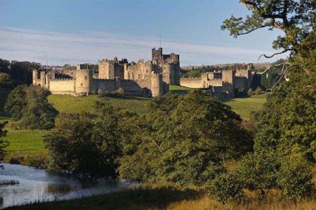 1- alnwick castle