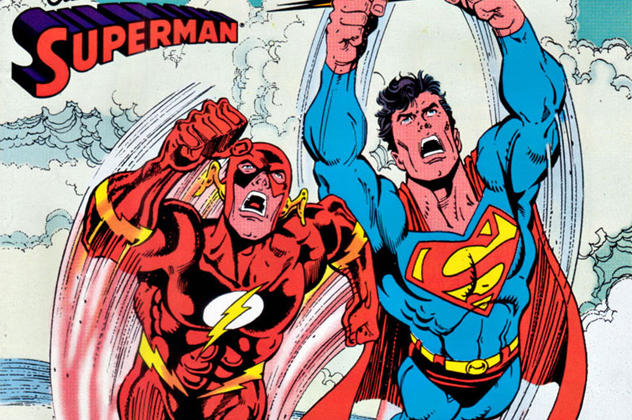 2- flash vs supes