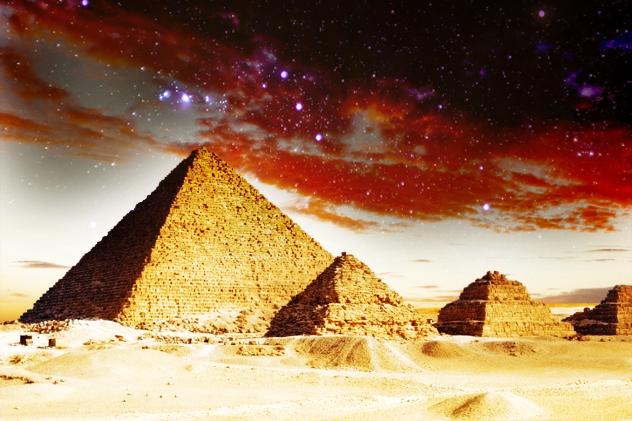 3- pyramids