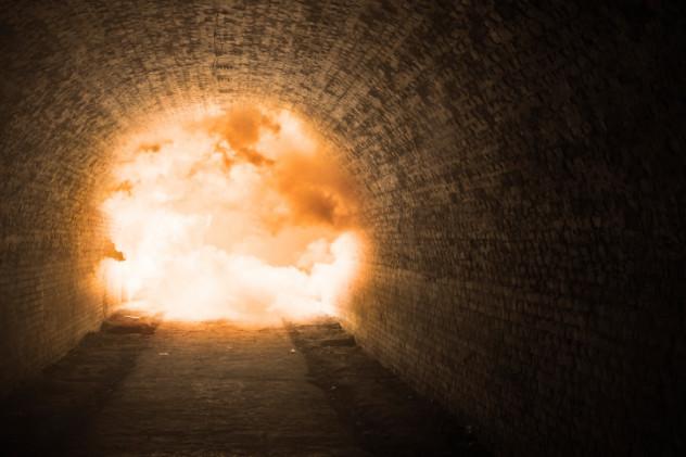 underground explosion