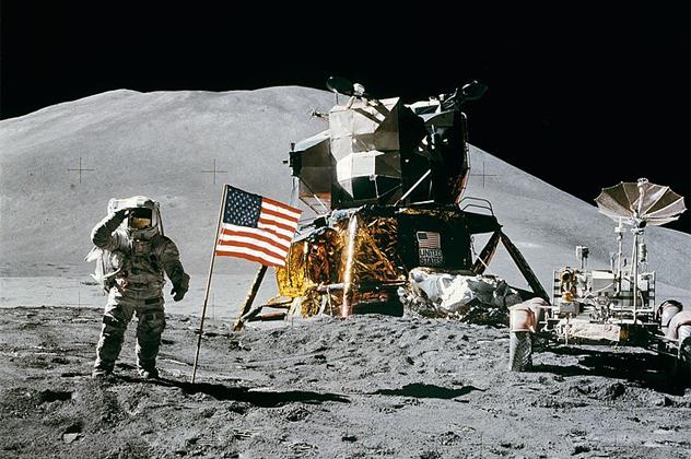 1- moon landing