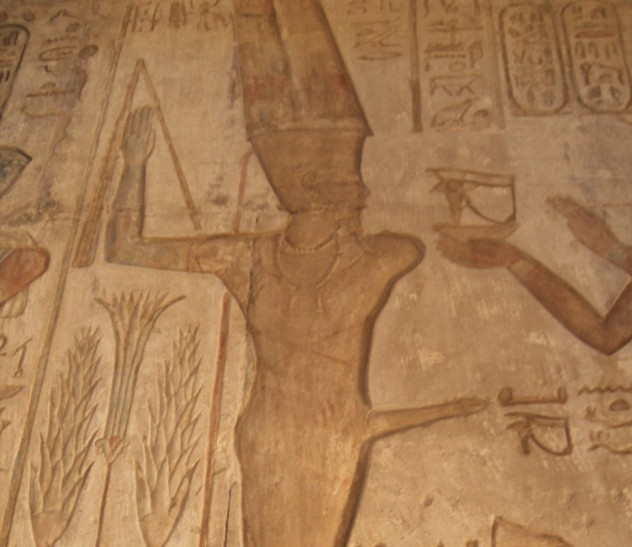 Ptolemaic Temple Reliefs at Deir el-Medina (XIII)