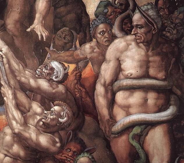 Michelangelo,_Giudizio_Universale_29