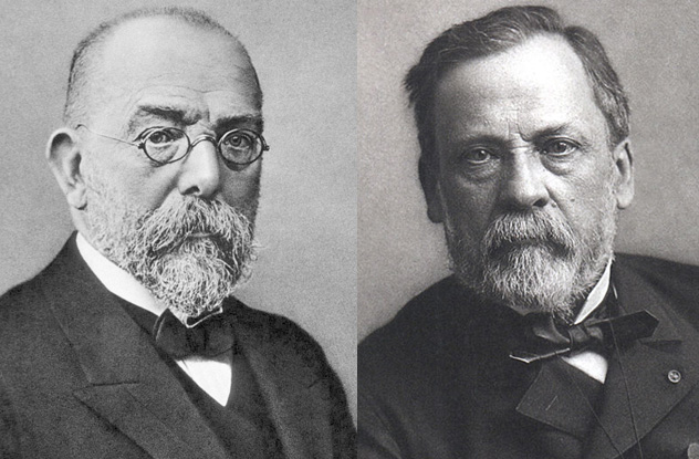 Koch–Pasteur rivalry